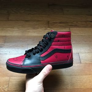 Deadpool Marvel Vans Old Skool High Tops